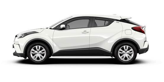 Toyota C-HR и HYBRID ВАРИАНТ